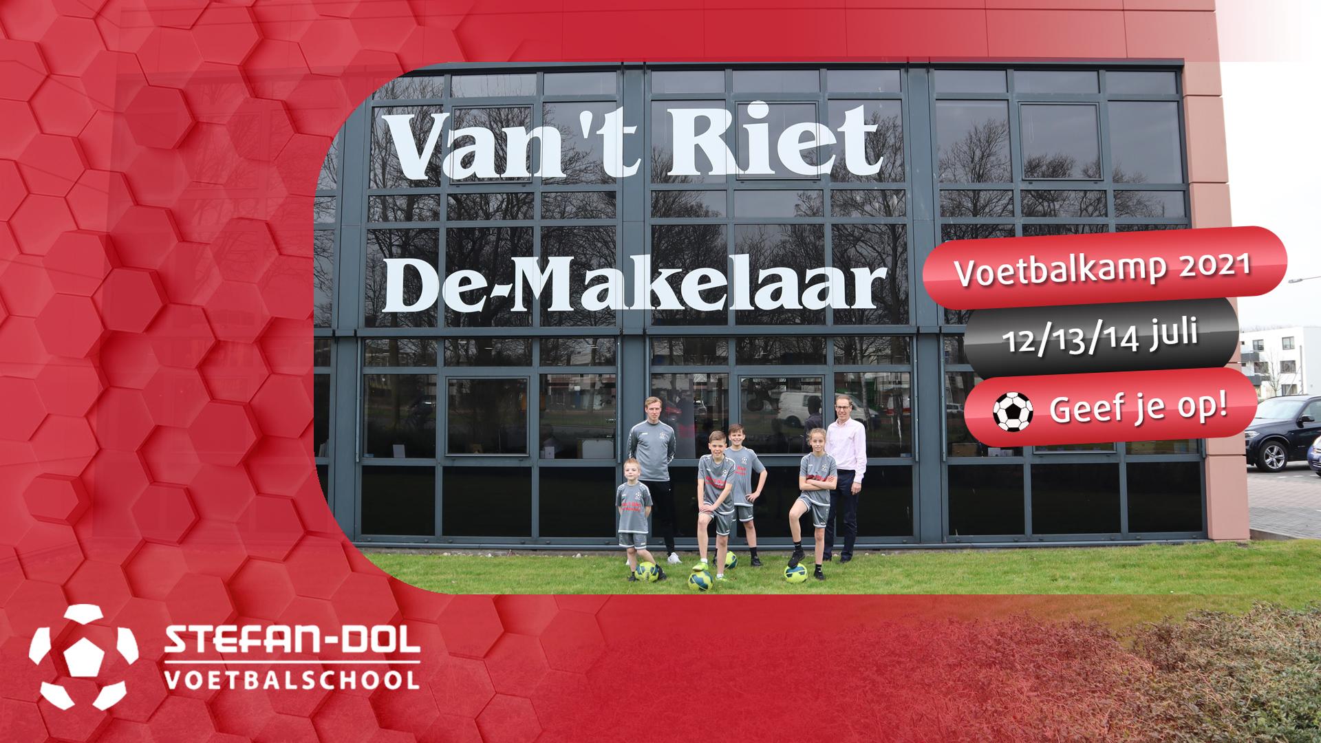 Voetbalkamp 2021 / Van 't Riet De-Makelaar