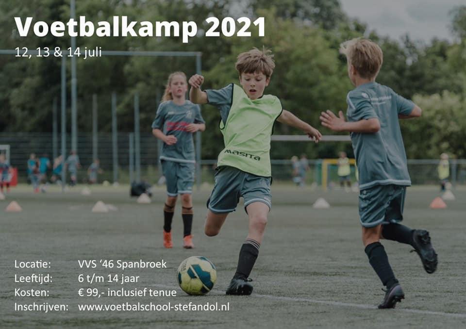 Inschrijving Voetbalkamp 2021